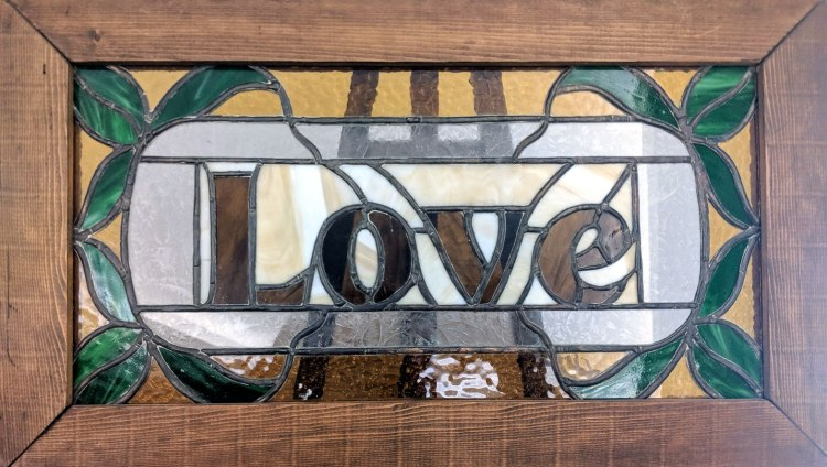 Love Stained Glass